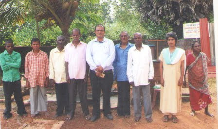 Eight persons from Vishwasadamane Center returns home after rehabilitation