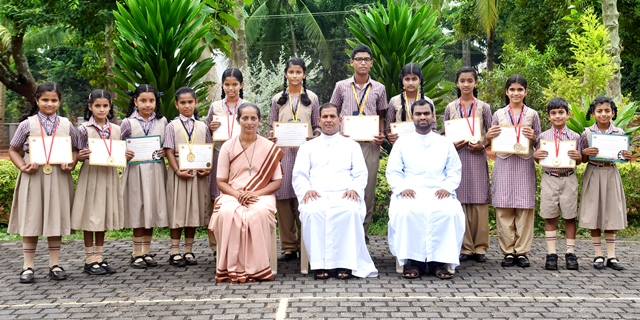 Mount Rosary Kallianpur Marched into Spell Bee State Level Competition