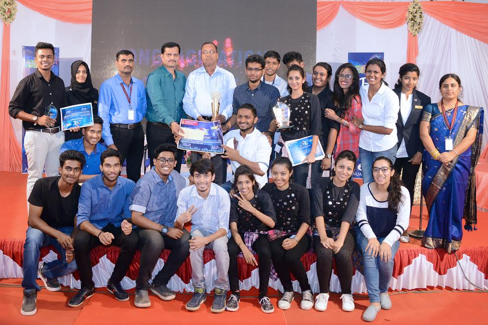 St Aloysiys College, Manglore bagged overall Championship in IT Fest at SPC