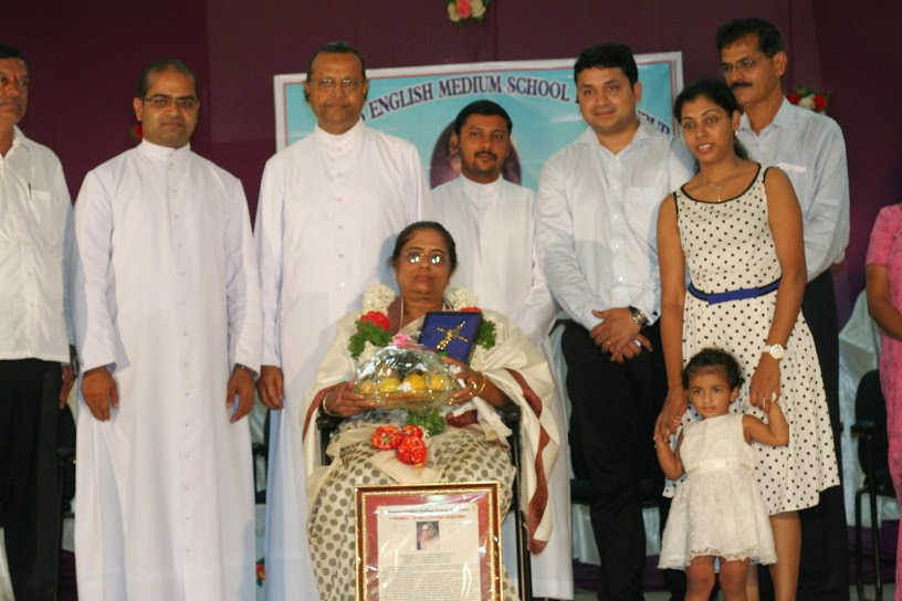Farewell function for Cynthia Sequiera held at Milagres, Kallianpur