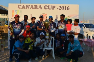 Abu Dhabi: GMC Dubai wins Canara Cup  2016, Eagles Abu Dhabi runner up