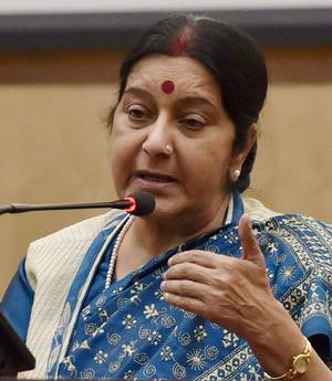 sushma Swaraj outwits Twitter user who sought help 'from Mars'