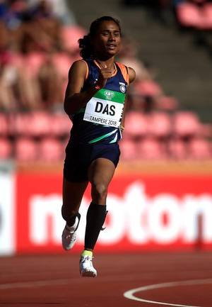 Hima Das brings home India's first ever track gold at the Worlds
