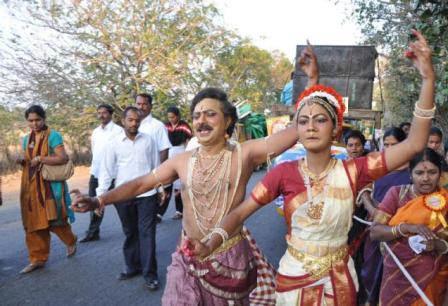 She danced her way to the Indian Book of Records