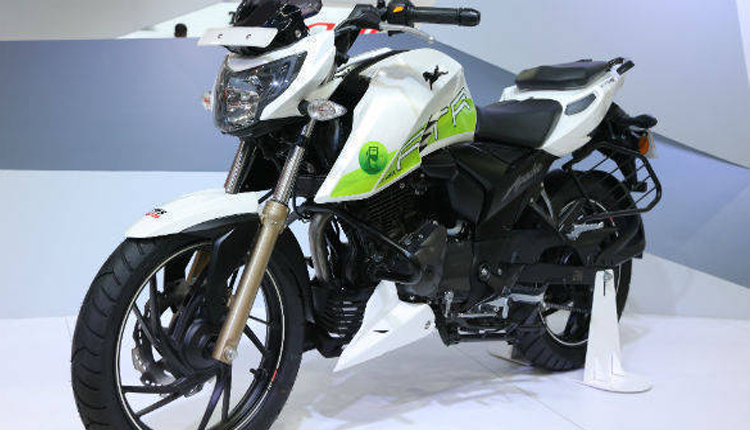 TVS launches ethanol-powered bike