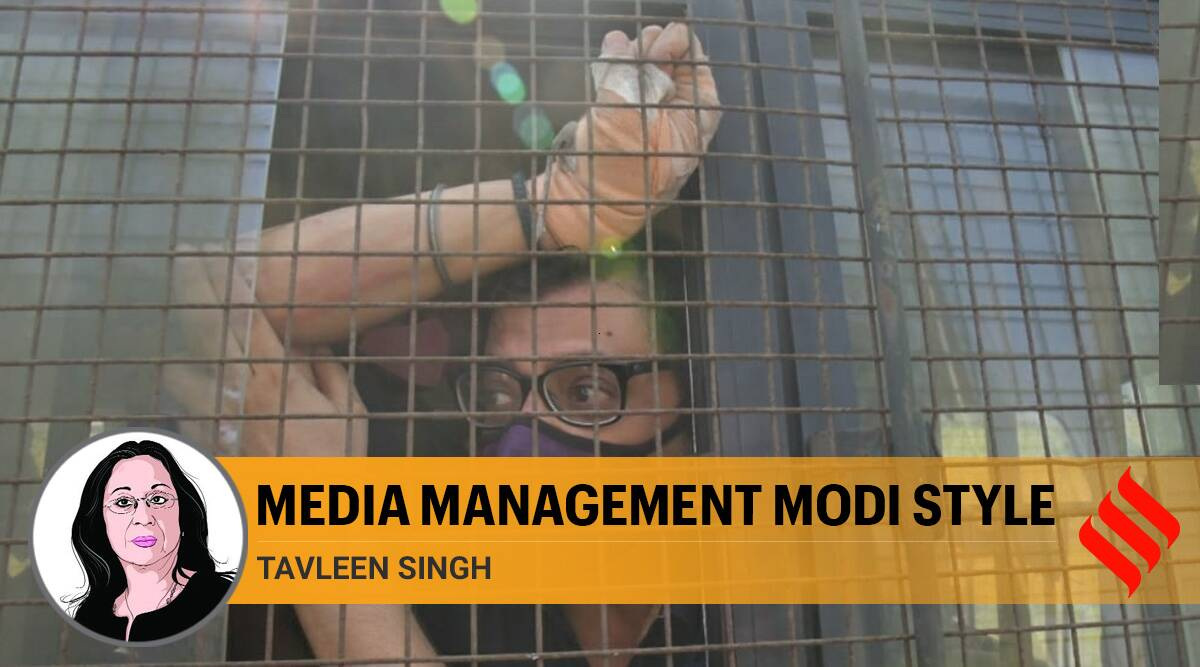 Media has been managed so well by Modi government