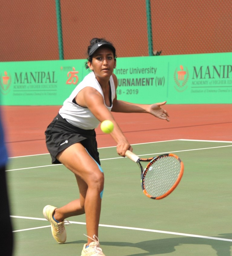 Gujarat and Osmania moves into quarter final of Inter Varsity Tennis Tournament