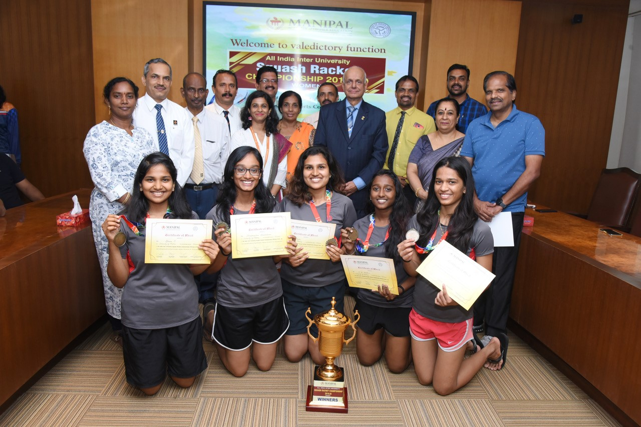 Fourth successive win for University of Madras in Squash, MAHE again runners