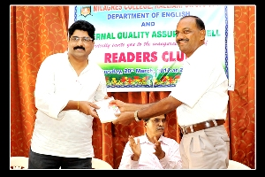 Readers club Inaugurated in Milagres College, Kallianpur
