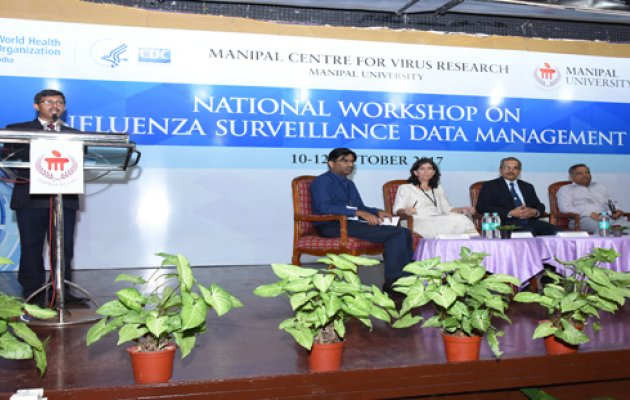 WHO Sponsored Workshop on Influenza Surveillance Data in Manipal to Conclude on Octo 12