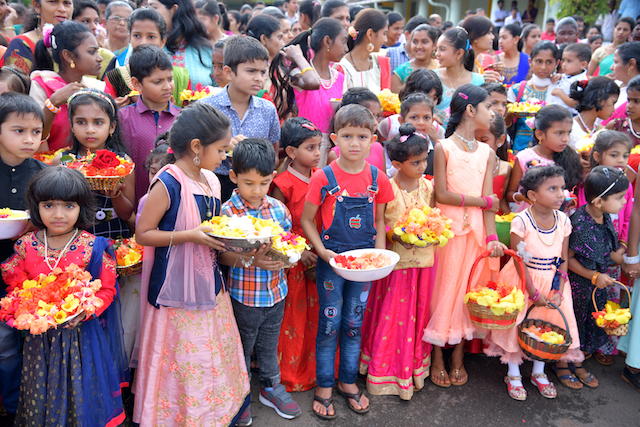 Monthi Fest celebration at Sacred Heart of Jesus Church Madanthyar