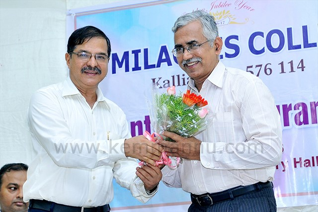 Kallianpur: Prof Sadashiva Rao had taken charge as M Com co ordinator of Milagres College.