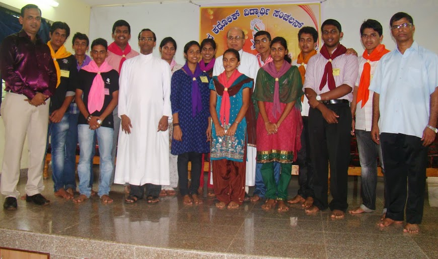 Udupi Diocese YCS Animators & Office Bearers' Training Programme & Central Council elections Held