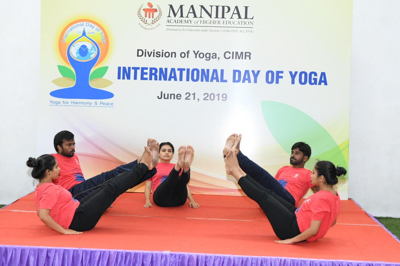 MAHE celebrates International Yoga Day