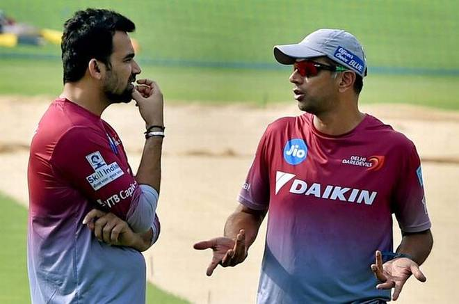 Dravid , Zaheer's appointment awaits confirmation