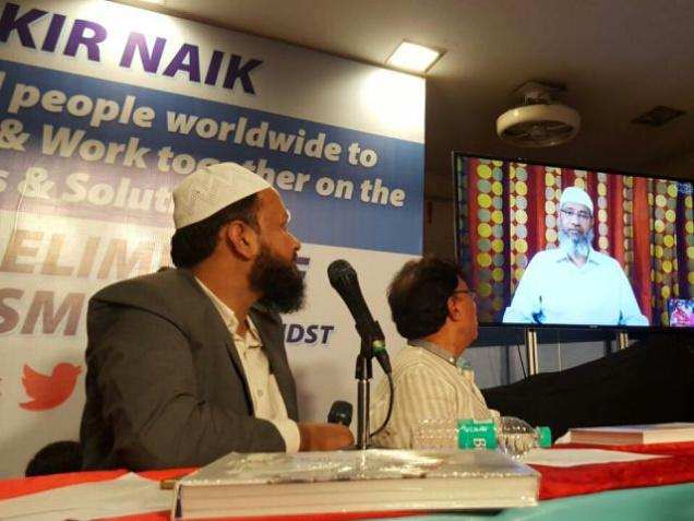 Zakir Naik says he did not inspire any terrorist