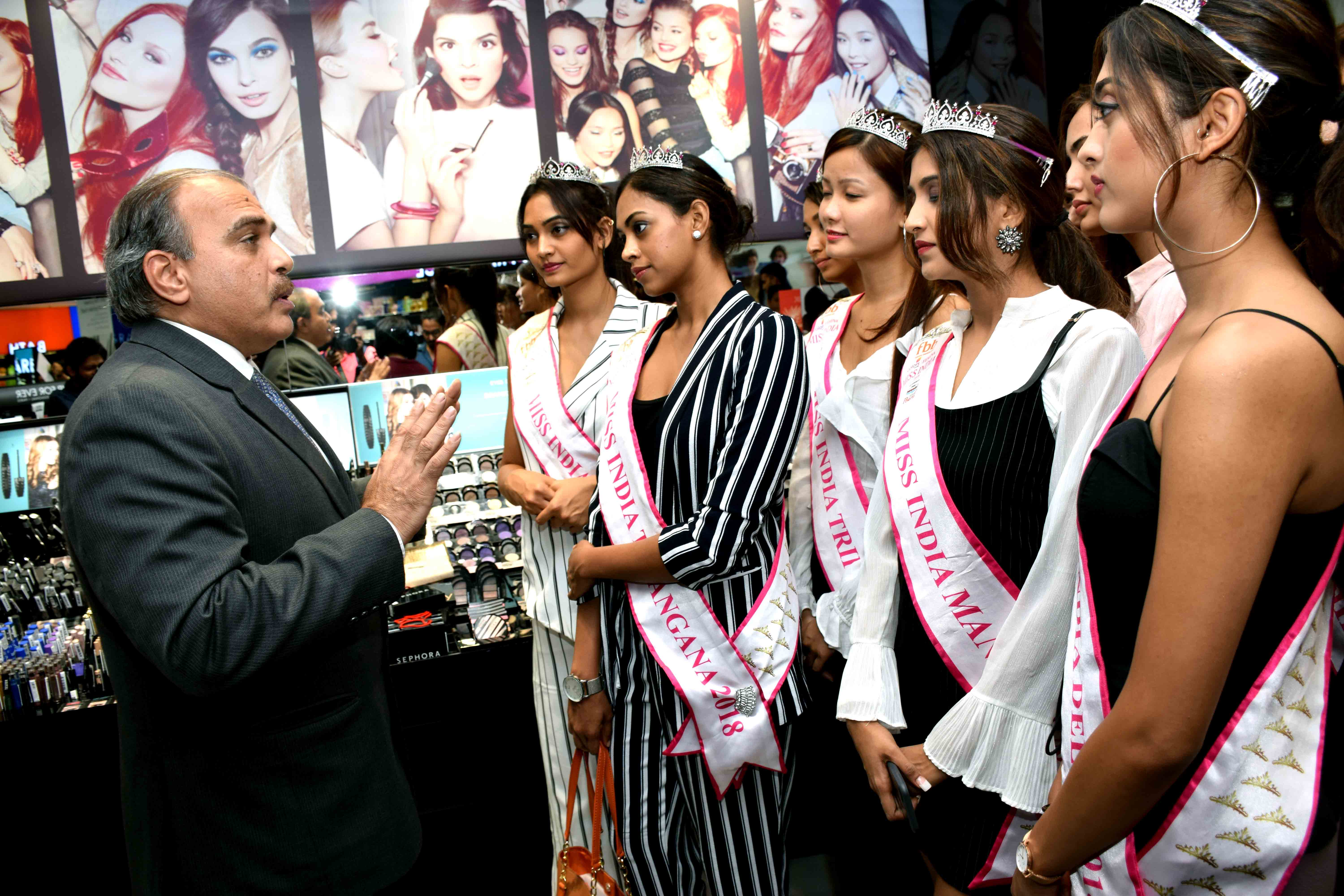 An exclusive meet - and - greet session with Miss India 2018 finalists