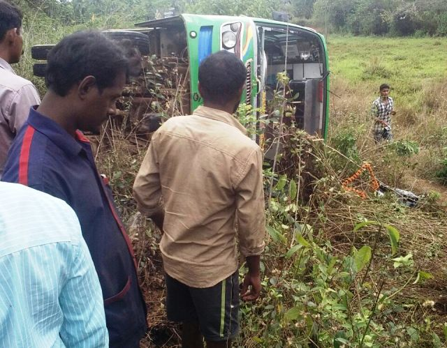 In a tragic accident two youths killed on spot at Hiriadka