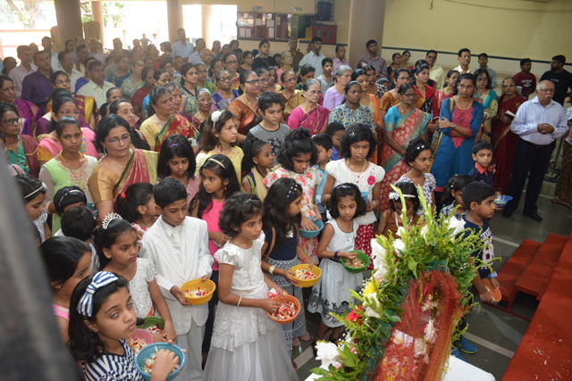 Mumbai: St Louis Church, Dahisar celebrates Monthi Fest
