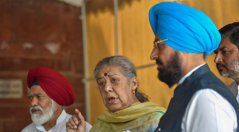 Congress to move privilege motion against Swaraj