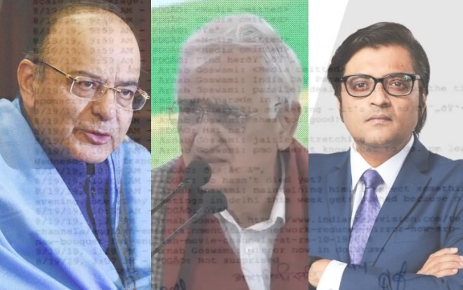 Salman Khurshid lashes out at Arnab Goswami, BJP for 'Jaitley stretching it' line