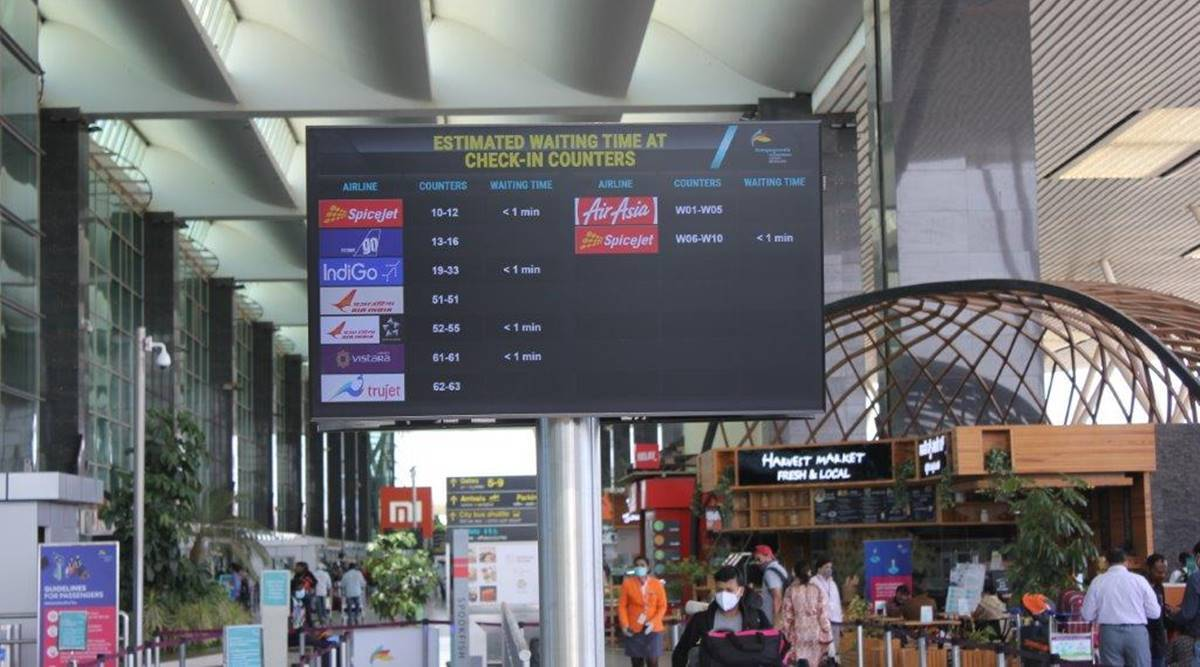 Bengaluru airport launches tech-enabled passenger flow management system