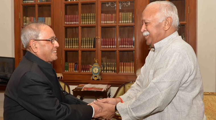 Where RSS has invited Pranab Mukherjee