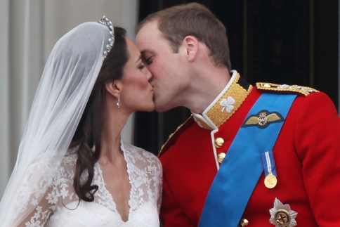 Prince William and Kate Middleton have been pronounced man and wife at Westminster Abbey.