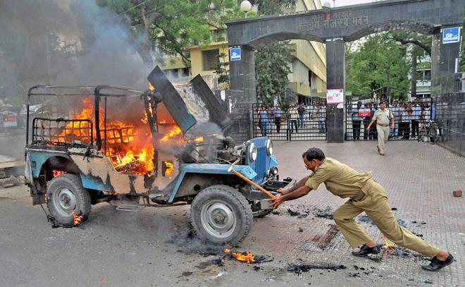 Bihar rocked by violence after Ranvir Sena chief's murder
