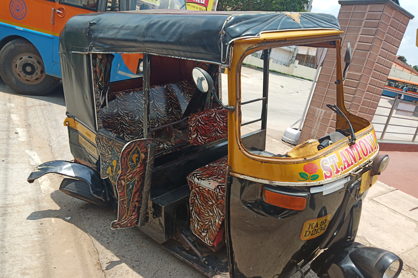 Bike-rickshaw collision: Three injured