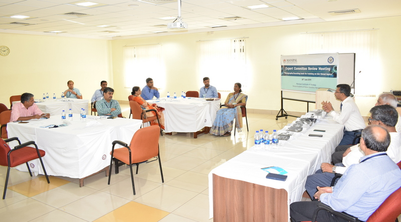 Experts review bio-threat mitigation training resources at MIV, Manipal