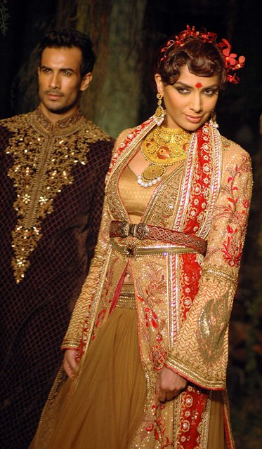 India Bridal fashion week, fashion show 13.09.2012