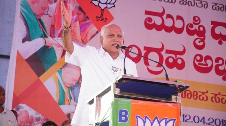 'Modi wave' sweeping Karnataka, says Yeddyurappa