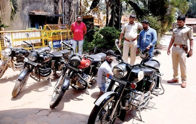 Kaup market: Bullet bikes causing noise pollution finedKaup market: Bullet bikes causing noise pollution fined