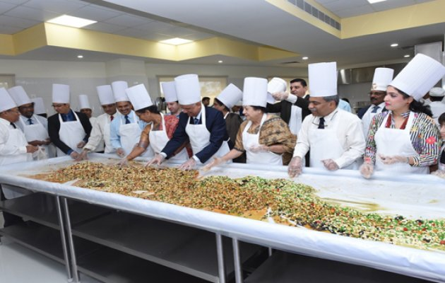 Christmas cake fruit mixing ceremony held in Manipal