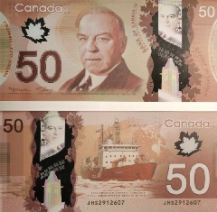 Canada releases new plastic currency