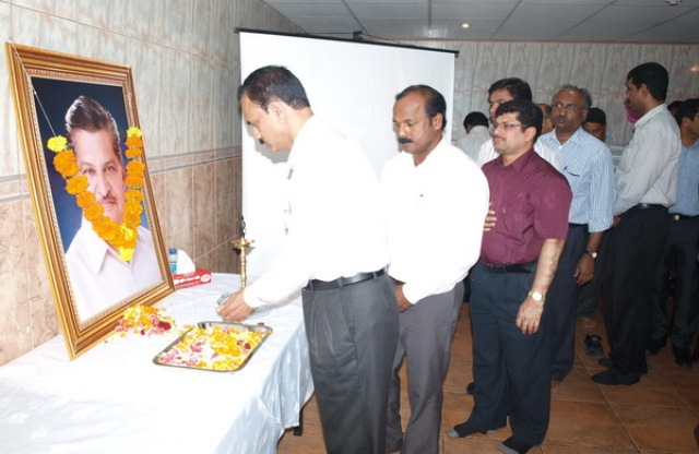 A TRUE SPIRIT OF CONDOLENCE OFFERED TO DR. V. S. ACHARYA IN DUBAI