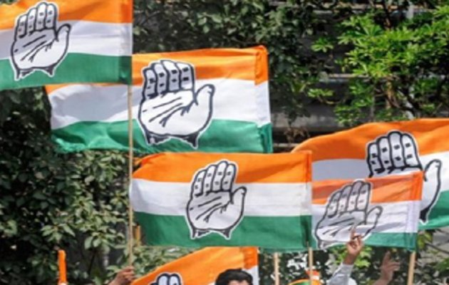 Udupi: District Congress protests against rising prices of fuel
