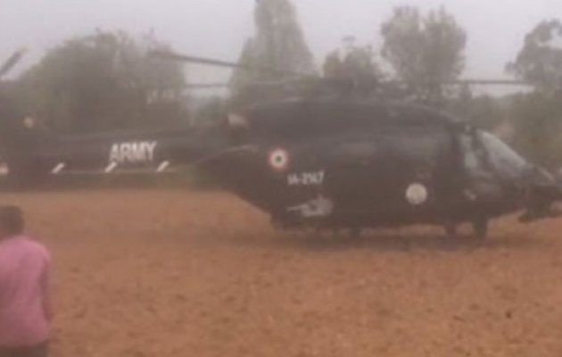 Army helicopter makes emergency landing near Bengaluru