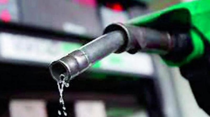 Petrol price hiked by Rs 1.23 per litre, diesel by 89 paise