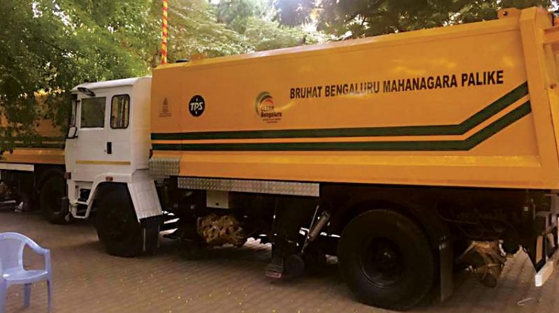 Finally, Bengaluru gets mechanical sweepers