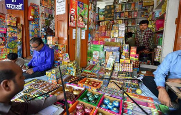 Deepavali: Rs 6 crore worth fireworks sold in DK
