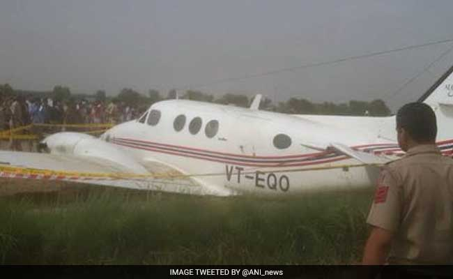 Air Ambulance Crash-Lands Near Delhi Airport After Losing Both Engines