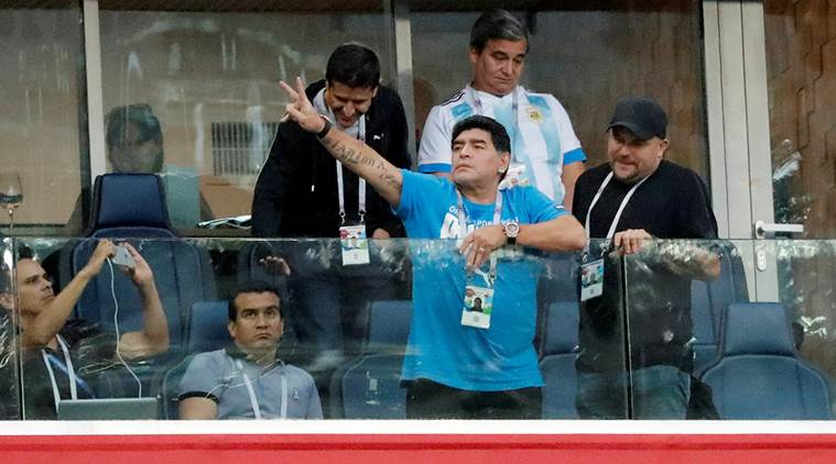Diego Maradona offers reward to find person spreading rumour of his death