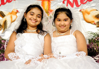 First Holy Communion : Melanie & Alita