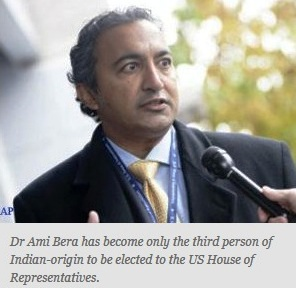 Dr Ami Bera comes to Washington; third Indian-American elected to Congress