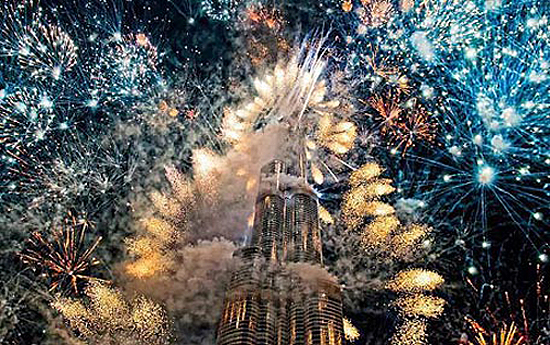 New Year's eve gala around Burj Khalifa breaks Guinness Record