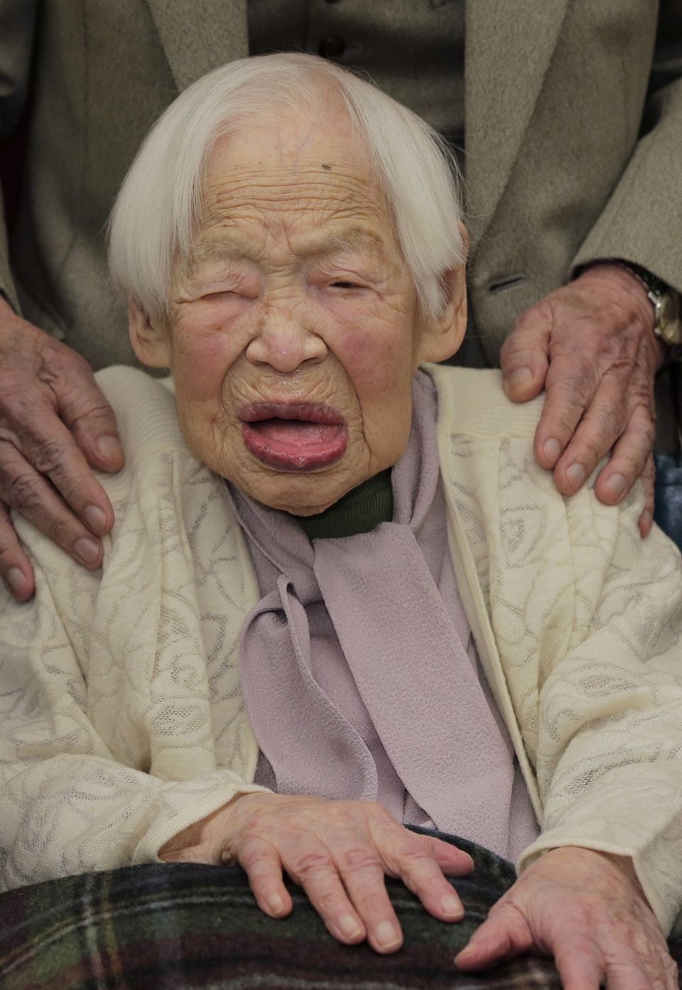 World's oldest person dies at 116 in Japan
