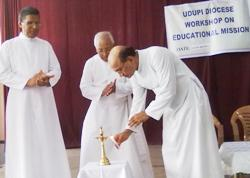 Workshop on Education policy of Udupi Diocese