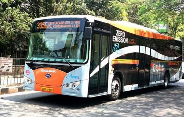 Electric buses in Bengaluru operational from next week